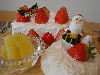 11 12 24クリスマスケーキ