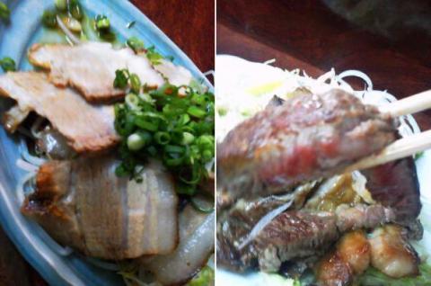 焼豚&ステーキ
