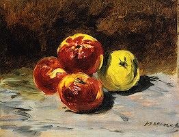 4個のリンゴ