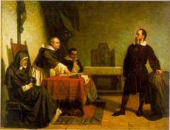 クリスティアーノ・バンティ 「宗教裁判の前のガリレオ」