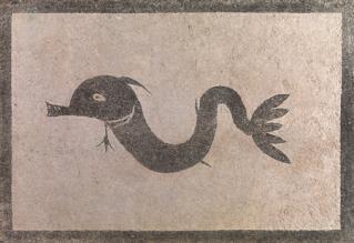 イルカのモザイク