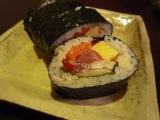 太巻き寿司101203