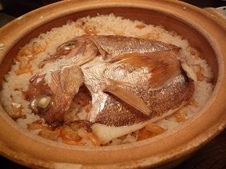 青柳 鯛ご飯3