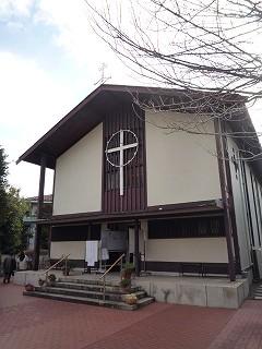 上野毛教会100221-1