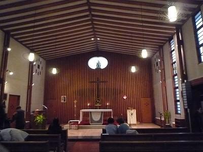 上野毛教会100221-2