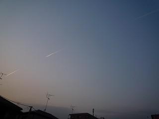 飛行機雲2-100222