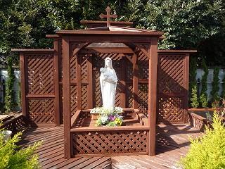 カトリック上野毛教会マリア像100228-1