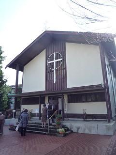 カトリック上野毛教会100228