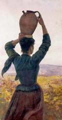フランチェスコ・ジョーリ 「水運びの娘」