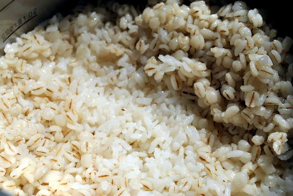 第三回押し麦ご飯なべ