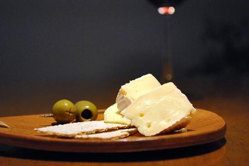 チーズとオリーブ2