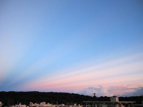 2012.8.18 夕空