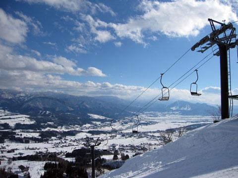 戸狩温泉スキー場全景2