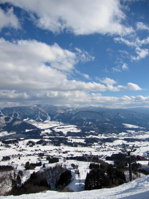 戸狩温泉スキー場全景3