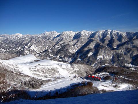 稗田山コース3頂上から