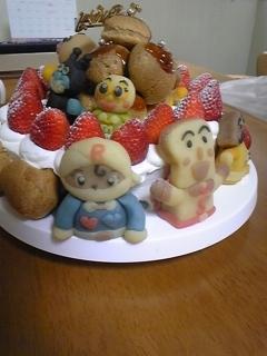 3月ケーキ他キャラ