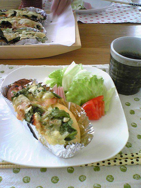 小松菜試食