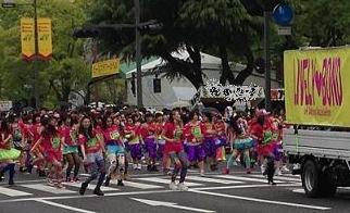 フラワーフェスティバルパレード