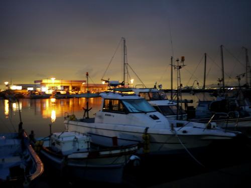 藍島の夜景