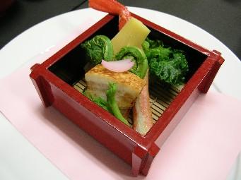 山菜のお料理