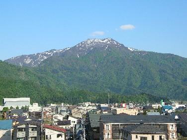 新緑の金城山