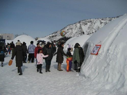 雪まつり会場1