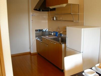 T・Mリバーサイドハイツ102号-キッチン