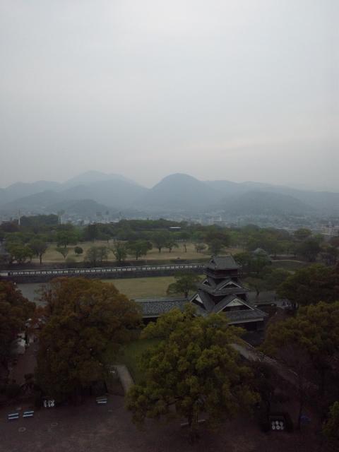 熊本城から2
