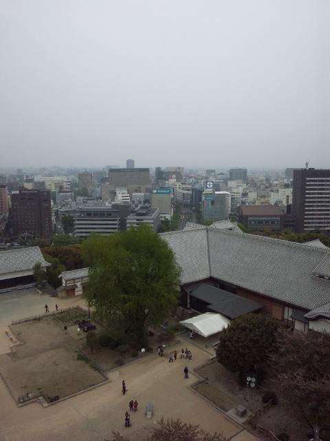 熊本城から