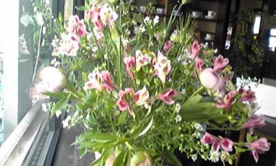 宮本さん生け花