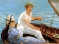 エドゥアール・マネ「Boating」