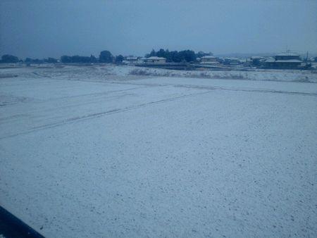 いわき市 雪景色 (1)