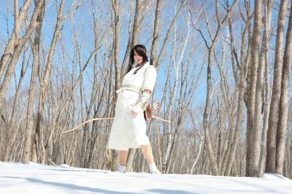 雪上でこの恰好は寒いよねわかってたの