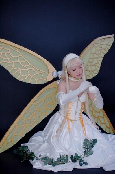 妖精さん 羽根が重くて大変だったんだこれも