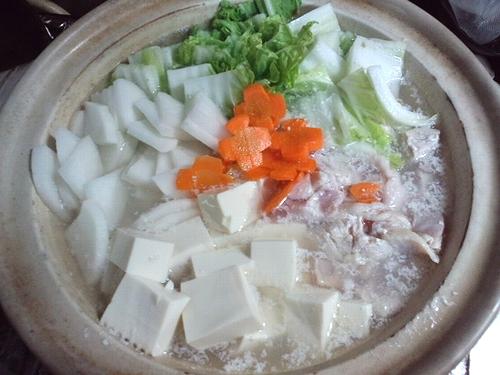 2011今年初の湯豆腐