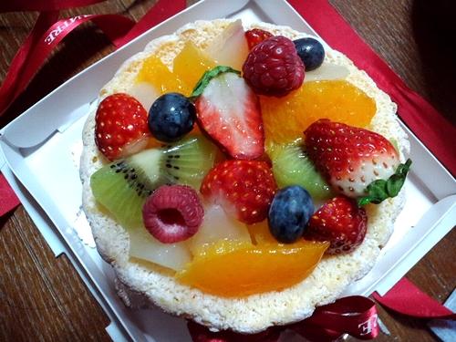誕生日ケーキ第二弾^^