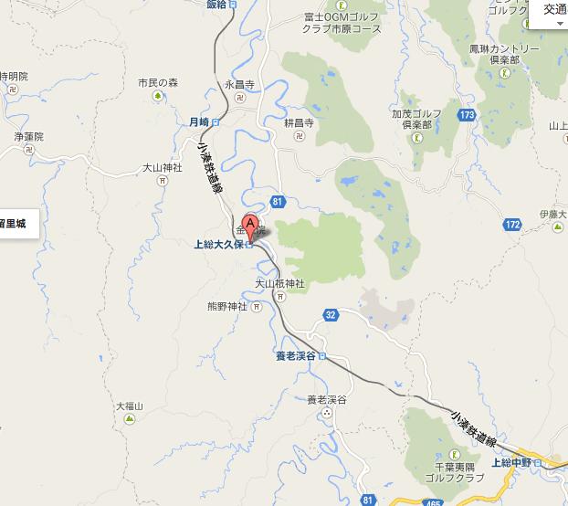 地図上総大久保駅