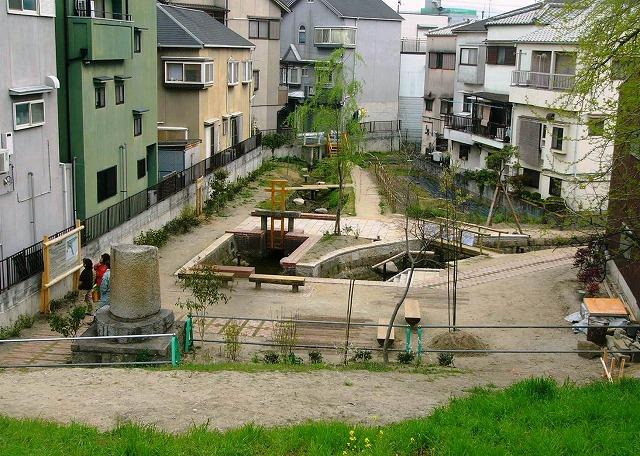 茨田樋遺跡水辺公園完成