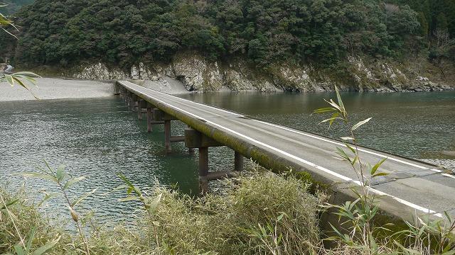 P1060257●岩間の沈下橋です
