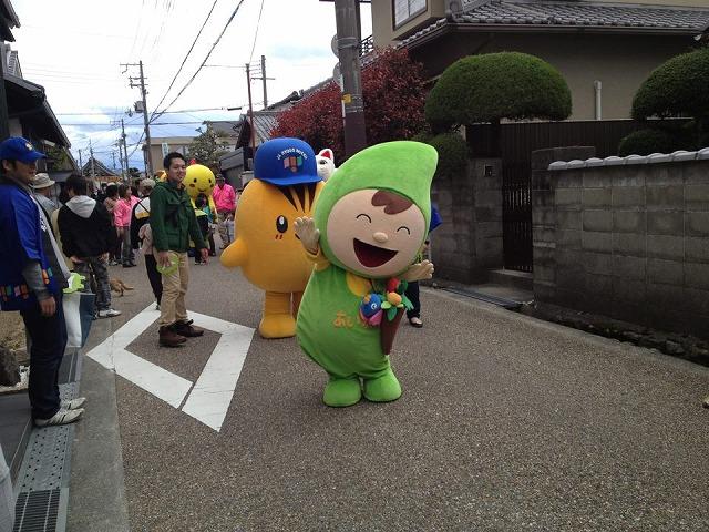 4月7日つづき⑥小浜宿まつりあいちゃん