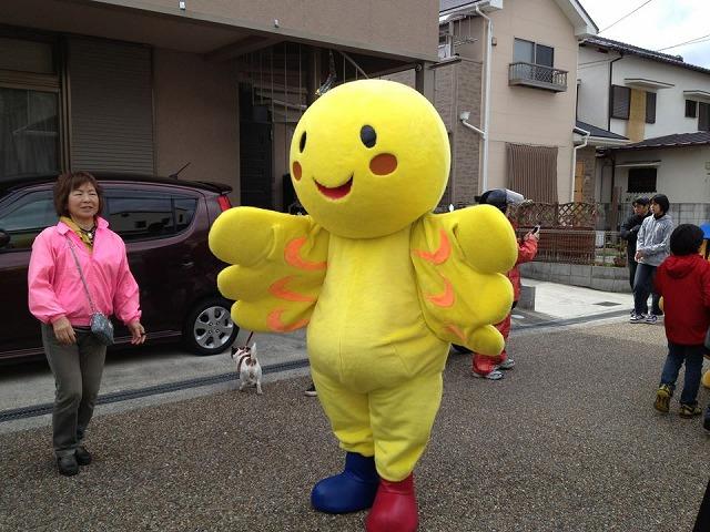 4月7日つづき⑦小浜宿まつりはばたん