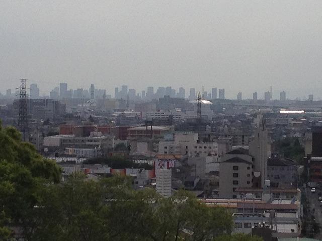 IMG_4642●野崎観音から大阪平野