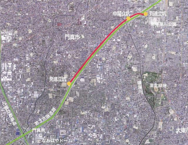 地下河川マップ