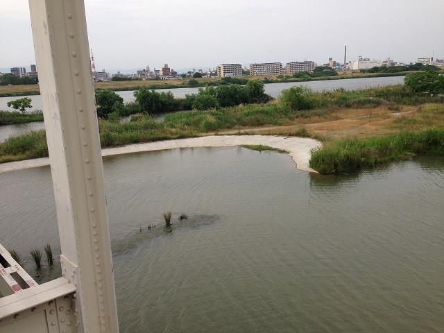 IMG_4845赤川鉄橋からワンドを見ます