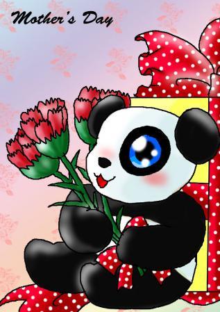 パンダさん~母の日