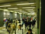 スタート前新宿駅構内2