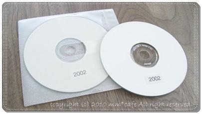 CD-Rに保存