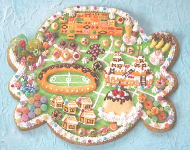お菓子の島