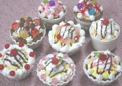 陶器カップケーキ