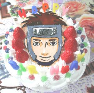 NARUTOケーキ